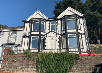 Thumbnail 3 bed semi-detached house for sale in Danygraig Terrace, Tonypandy