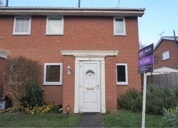 Thumbnail 1 bed semi-detached house for sale in Shrewsbury Way, Saltney, Chester