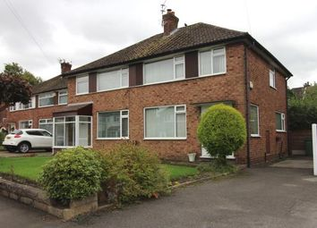 Thumbnail 3 bedroom semi-detached house for sale in Alderdale Road, Cheadle Hulme, Cheadle, Greater Manchester