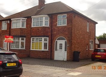 Thumbnail 3 bed semi-detached house to rent in Hylion Rd, Knighton, Leicester