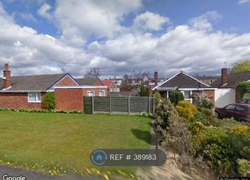 Thumbnail 3 bed bungalow to rent in Anderton Way, Wilmslow