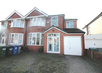 Thumbnail 4 bed semi-detached house for sale in Canterbury Road, Urmston, Manchester
