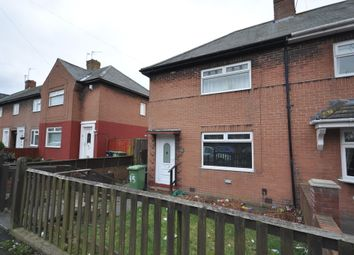Thumbnail 2 bed semi-detached house for sale in Polmuir Road, Plains Farm, Sunderland