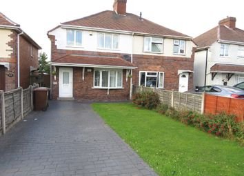 Thumbnail 3 bedroom semi-detached house for sale in Coronation Road, Pelsall, Walsall