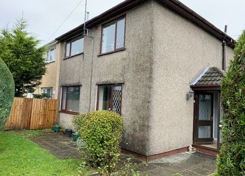 Thumbnail 3 bed semi-detached house for sale in Darby Crescent, Ebbw Vale, Gwent