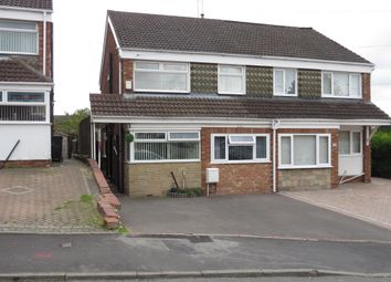 Thumbnail 3 bedroom semi-detached house for sale in Calewood Road, Brierley Hill
