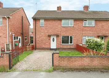 Thumbnail 3 bed semi-detached house for sale in Foxwood Grove, Calverton, Nottingham