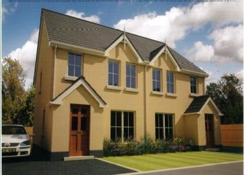 Thumbnail 3 bedroom semi-detached house for sale in Olivers Close, Ballygalget Road, Newtownards