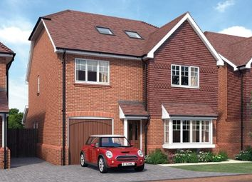 Thumbnail 4 bed detached house for sale in Farthings Hill, Horsham, West Sussex