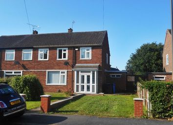 Thumbnail 3 bed semi-detached house to rent in Merrill Way, Allenton, Derby