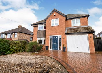 Thumbnail 4 bed detached house for sale in Merevale Road, Solihull