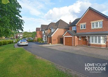 Thumbnail 4 bedroom detached house for sale in Oakham Road, Tividale, Oldbury