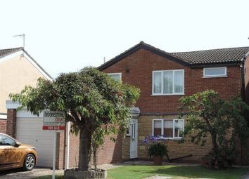 Thumbnail 4 bed detached house for sale in Grace Road, Desford, Leicester