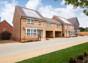 "Thumbnail 4 bedroom semi-detached house for sale in ""Chesham"" at Carters Lane, Kiln Farm, Milton Keynes"