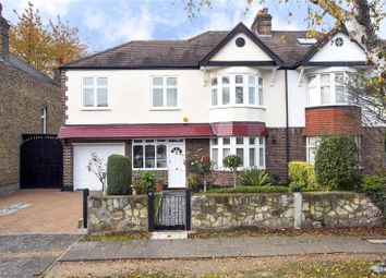 Thumbnail 4 bed semi-detached house for sale in Pensford Avenue, Kew, Surrery
