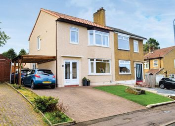Thumbnail 3 bed semi-detached house for sale in Seil Drive, Simshill, Glasgow