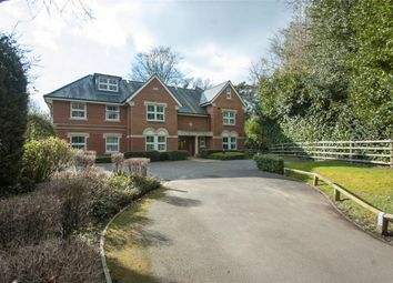 Thumbnail 2 bedroom flat to rent in Gally Hill Road, Church Crookham, Fleet