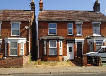 Thumbnail 3 bed semi-detached house for sale in Foxhall Road, Ipswich, Suffolk
