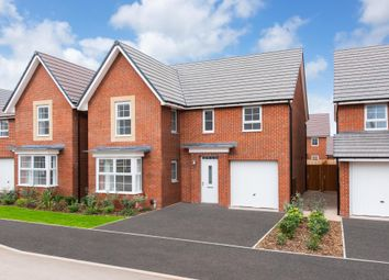 "Thumbnail 4 bedroom detached house for sale in ""Halstead"" at Ripon Road, Kirby Hill, Boroughbridge, York"