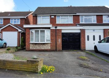 Thumbnail 3 bed semi-detached house for sale in Albert Clarke Drive, Willenhall