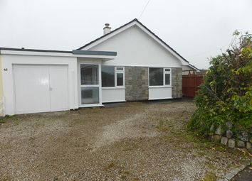 Thumbnail 3 bed detached bungalow to rent in Alexandra Close, Illogan, Redruth