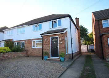 Thumbnail 4 bed semi-detached house for sale in Wavendene Avenue, Egham