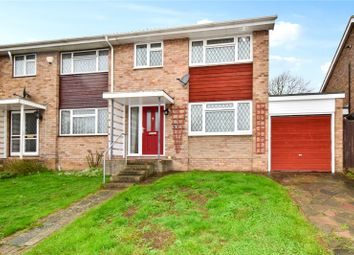 Thumbnail 3 bed semi-detached house for sale in Overmead, Swanley