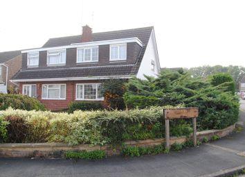 Thumbnail 3 bedroom semi-detached house for sale in Farnham Drive, Rushden