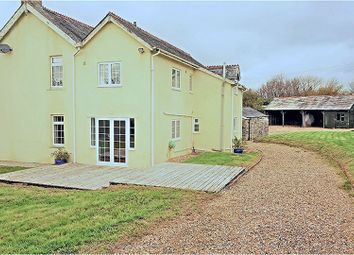 Thumbnail 4 bed detached house to rent in St. Ive Gang, Liskeard