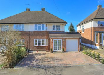 Thumbnail 4 bed semi-detached house for sale in Hammers Gate, Chiswell Green, St.Albans