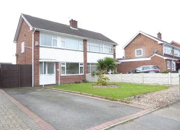 Thumbnail 3 bed semi-detached house for sale in Yew Tree Road, Newhall, Swadlincote