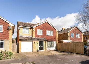 Thumbnail 4 bed property for sale in Vicarage Close, Grove, Wantage