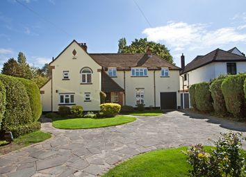 Thumbnail 4 bed detached house for sale in Links Avenue, Gidea Park, Gidea Park