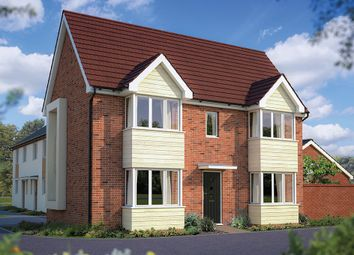 "Thumbnail 3 bed detached house for sale in ""The Sheringham"" at London Road, Calverton, Milton Keynes"