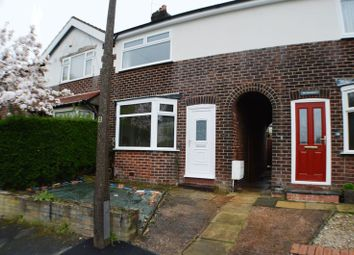 Thumbnail 2 bedroom terraced house for sale in Edward Avenue, Bredbury, Stockport