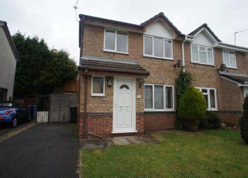 Thumbnail 3 bedroom semi-detached house to rent in Gleadsmoss Lane, Oakwood, Derby