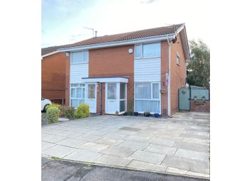 Thumbnail 2 bed semi-detached house for sale in Bowness Road, Altrincham