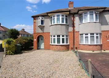 Thumbnail 3 bed semi-detached house for sale in Parsonage Manorway, Upper Belvedere, Kent