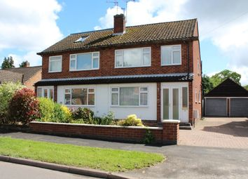 Thumbnail 3 bed semi-detached house for sale in Farmer Ward Road, Kenilworth