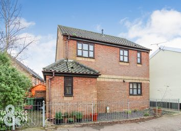 Thumbnail 3 bed detached house for sale in Diss Road, Scole, Diss