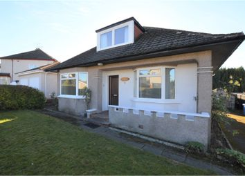 Thumbnail 3 bed detached bungalow for sale in Woodend Gardens, Glasgow