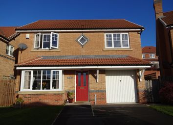 Thumbnail 4 bed detached house for sale in Deepdale Drive, Consett