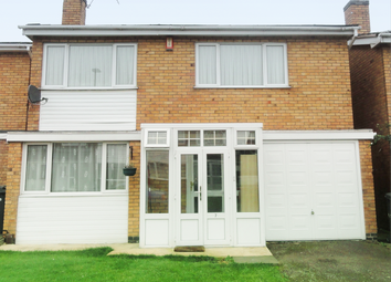 Thumbnail 4 bed detached house to rent in Badgers Close, Beaumont Leys