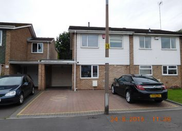 Thumbnail 3 bed semi-detached house to rent in Walcot Drive, Great Barr