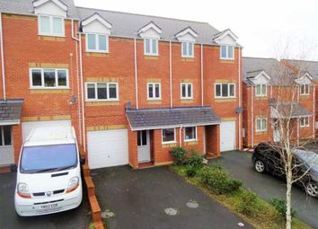 Thumbnail 3 bed town house for sale in 12, Oaklands Park, Barnfields, Newtown, Powys