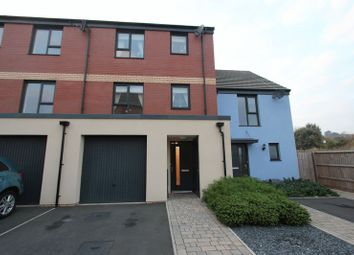 Thumbnail 4 bedroom terraced house for sale in Mariners Walk, Barry
