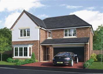 """Thumbnail 5 bedroom detached house for sale in """"The Thetford"""" at Choppington Road, Bedlington"""
