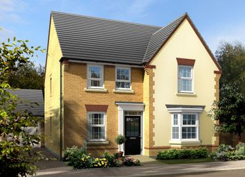 "Thumbnail 4 bed detached house for sale in ""Holden"" at Carters Lane, Kiln Farm, Milton Keynes"