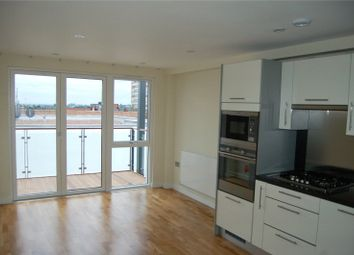 Thumbnail 1 bed flat to rent in Elm Road, Wembley
