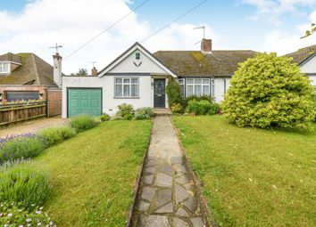 Thumbnail 3 bed semi-detached bungalow for sale in Tippendell Lane, Chiswell Green, St.Albans